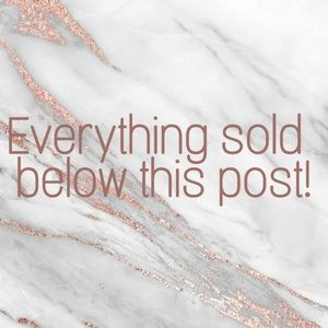 Other - Everything sold below this post!